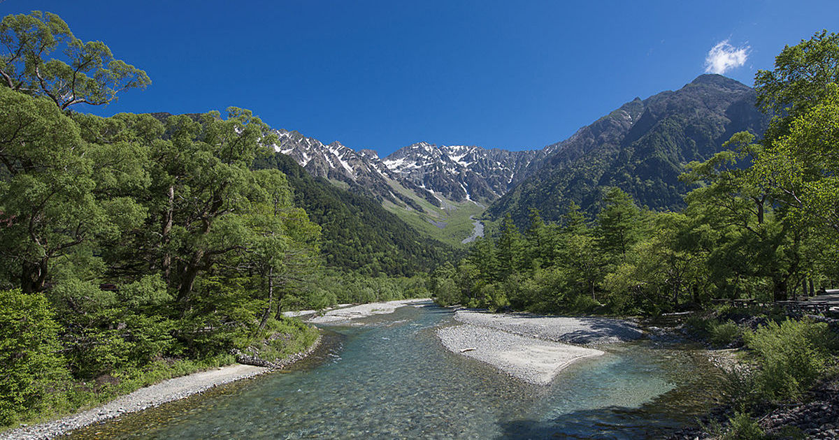 長野県上高地を丸ごと楽しむ方法!年間120万人が訪れる日本屈指の山岳リゾートへ