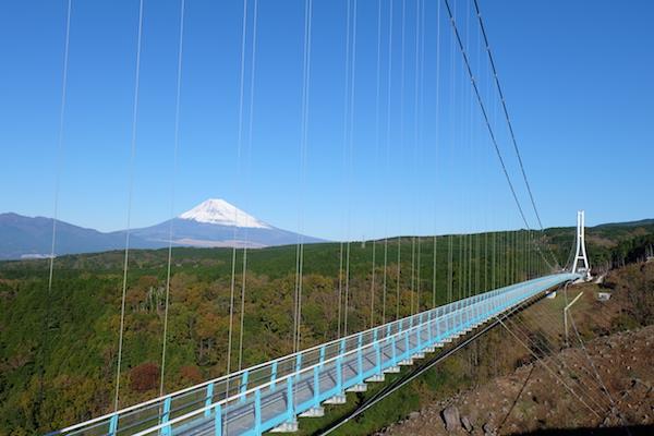 「押すなよ!絶対押すなよ!」日本の歩道吊り橋お …