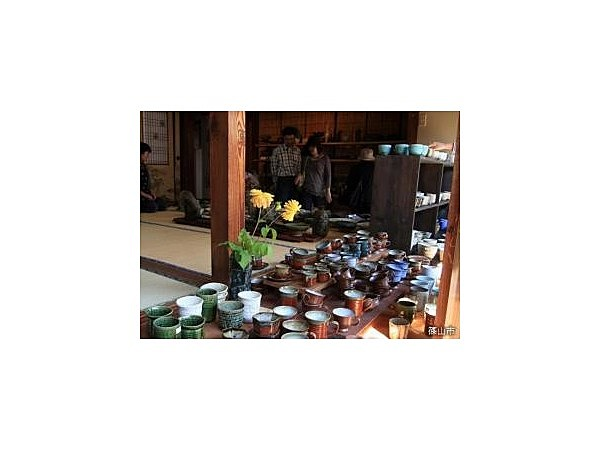 丹波焼陶器まつりと物産市