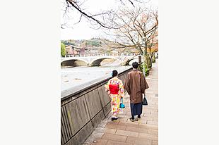 【金沢 着物レンタル】カップルプラン★情緒あふれる街並みを、着物で楽しもう!手ぶらで楽々観光