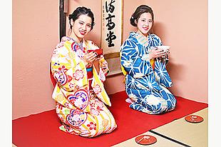 【金沢 着物レンタル】茶道・香道・お琴体験付コース★着物で本格的な伝統文化を体験!