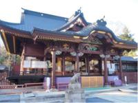 熊谷市で初めて国宝指定された本殿は必見!
